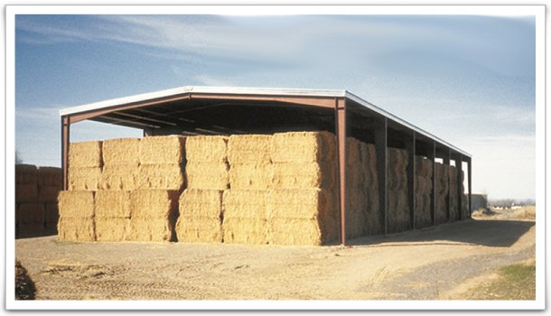 Hay stack structure